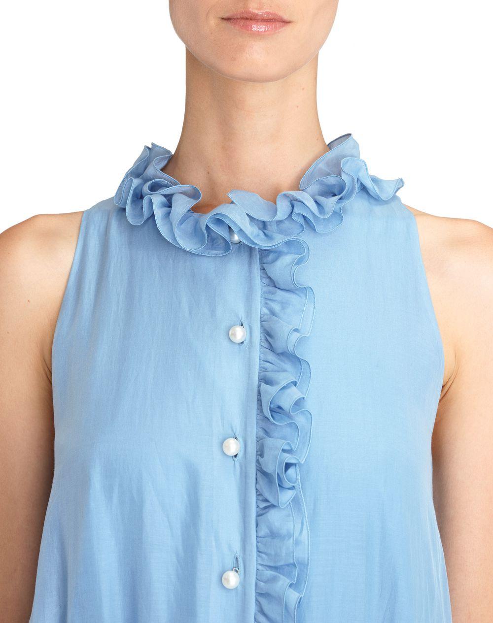 COTTON VEIL DRESS - Lanvin