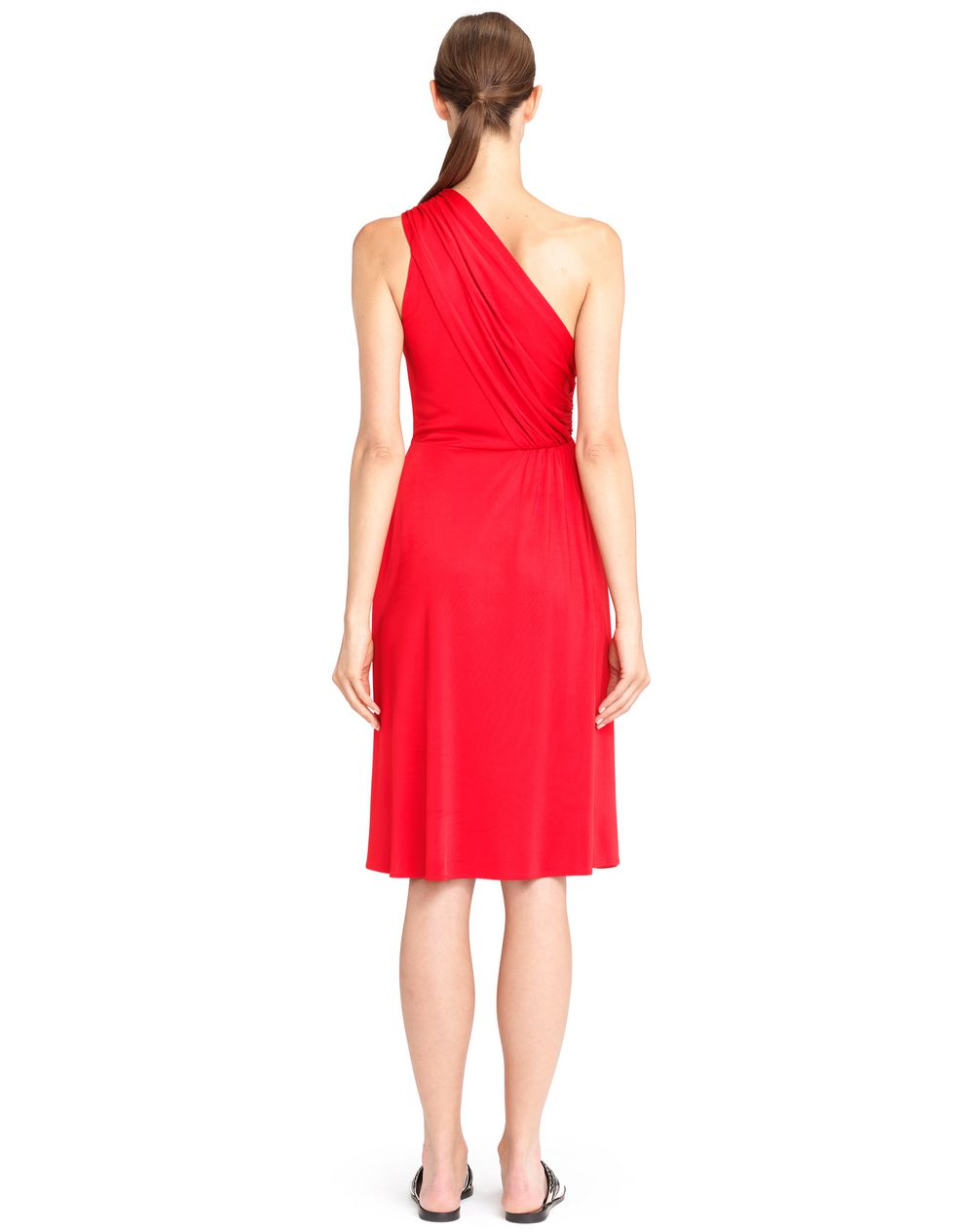 ASYMMETRICAL RED DRESS - Lanvin