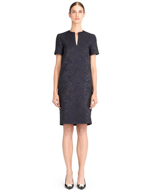 lanvin egg-shaped dress women