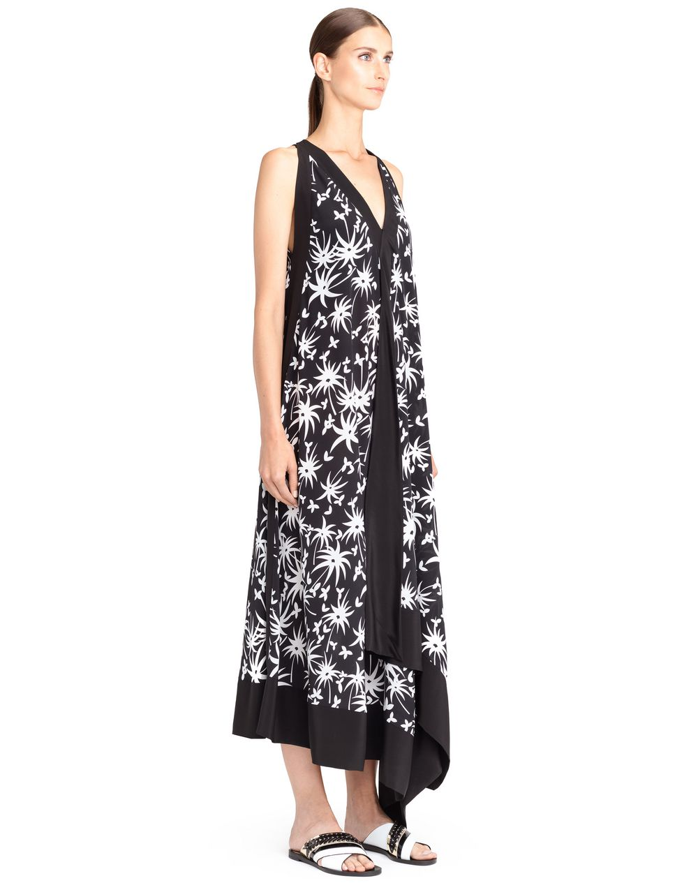LONG HANDKERCHIEF DRESS - Lanvin