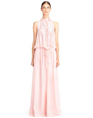LANVIN Dress D LONG COTTON VOILE DRESS F