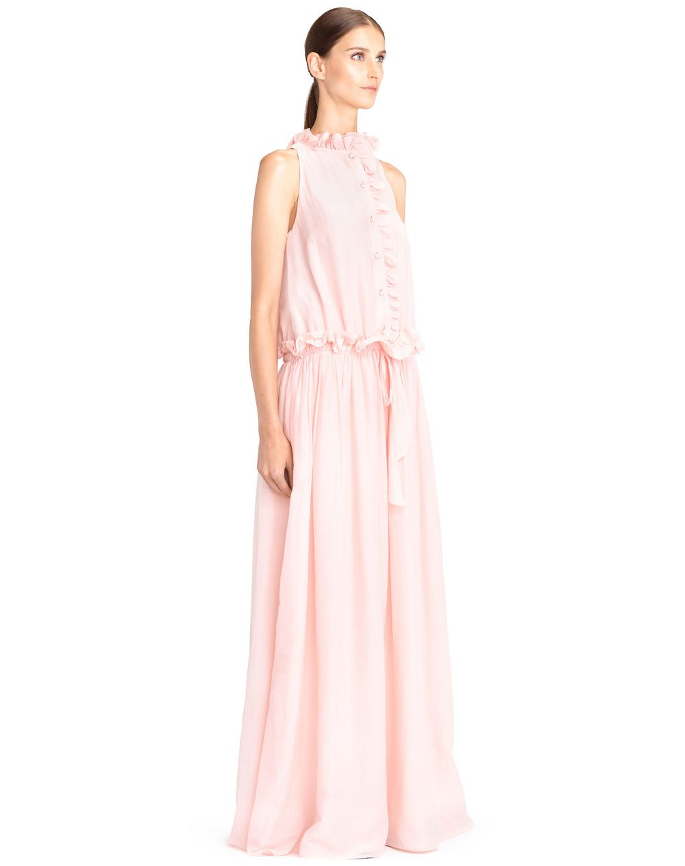 LONG COTTON VOILE DRESS - Lanvin