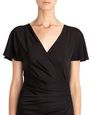LANVIN Dress Woman LONG BLACK JERSEY DRESS f