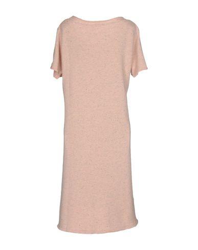 Фото 2 - Женское короткое платье JIJIL розового цвета