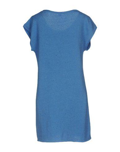 Фото 2 - Женское короткое платье JIJIL лазурного цвета