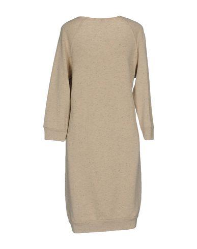 Фото 2 - Женское короткое платье JIJIL бежевого цвета