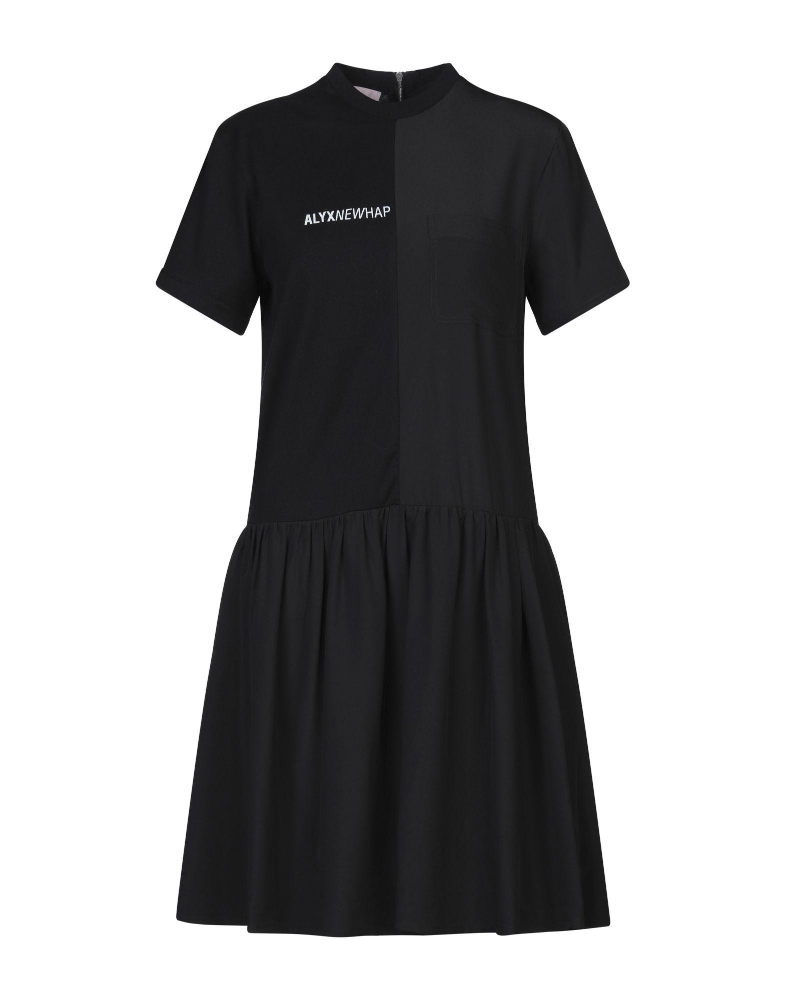 ALYX Короткое платье платье рубашка fox yulia sway платье рубашка fox