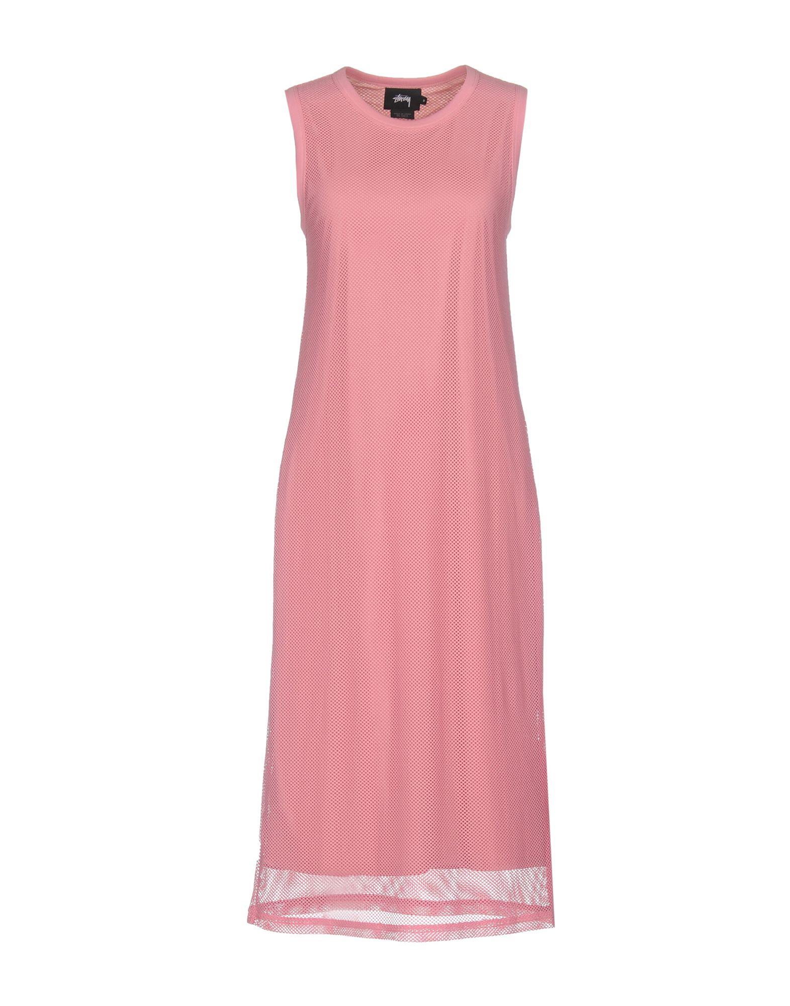 STUSSY Платье длиной 3/4 stussy платье до колена