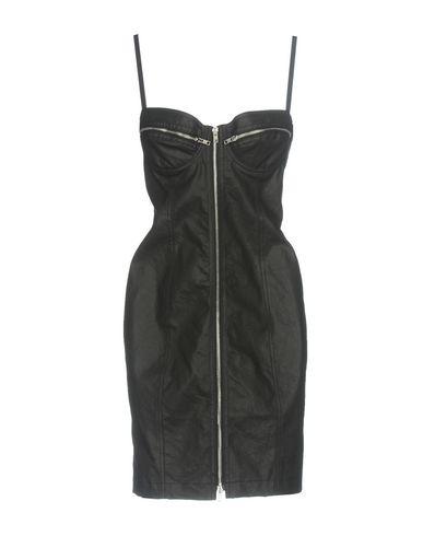 Купить Женское короткое платье JEREMY SCOTT черного цвета