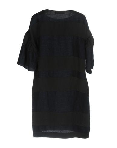 Фото 2 - Женское короткое платье JUCCA черного цвета