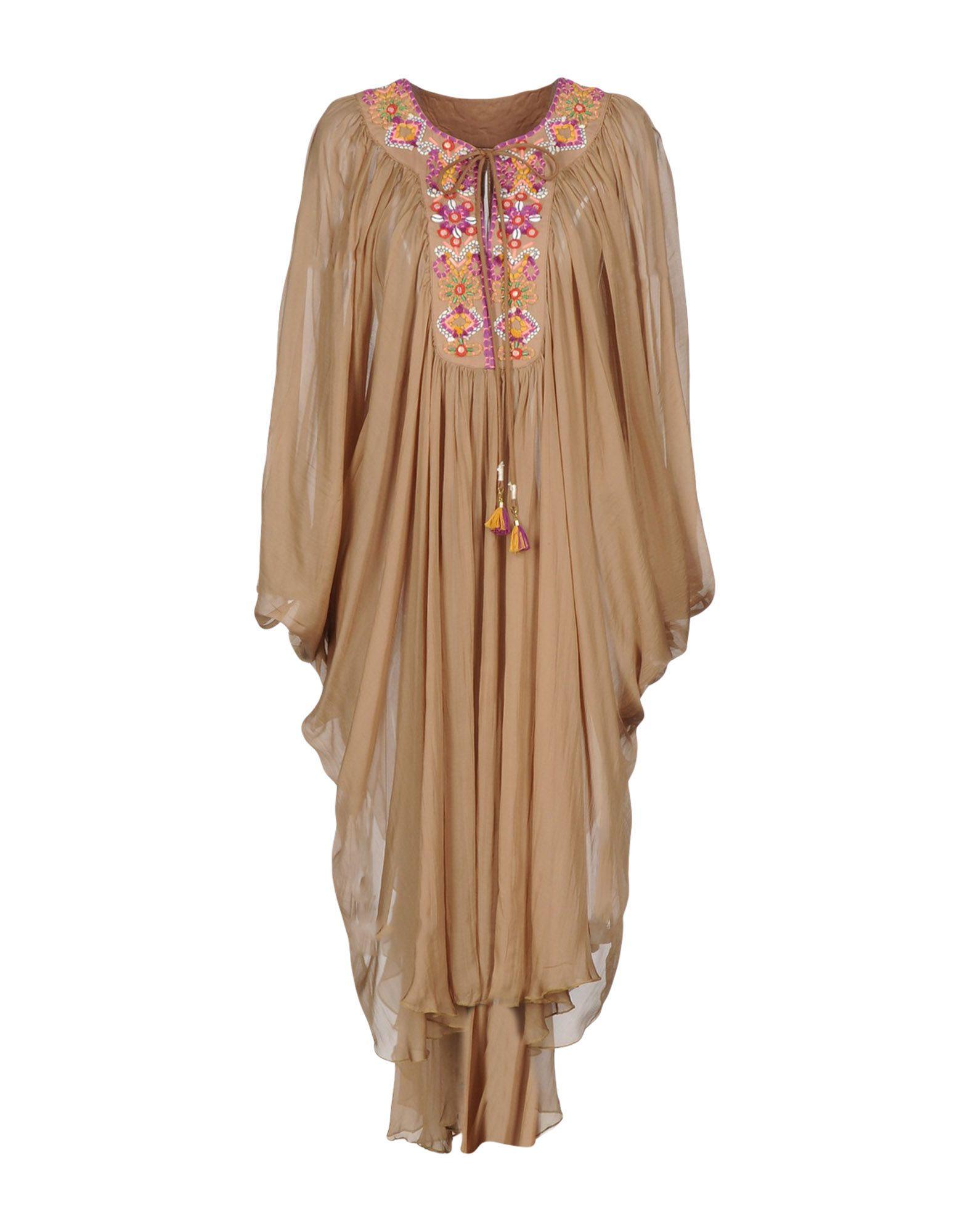 BLANK Платье длиной 3/4 tenax платье длиной 3 4