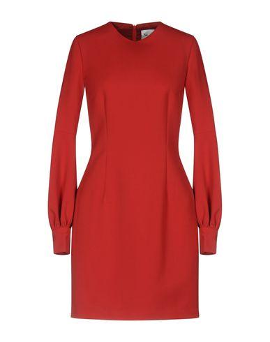 Фото - Женское короткое платье LEITMOTIV красного цвета