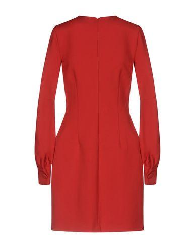 Фото 2 - Женское короткое платье LEITMOTIV красного цвета