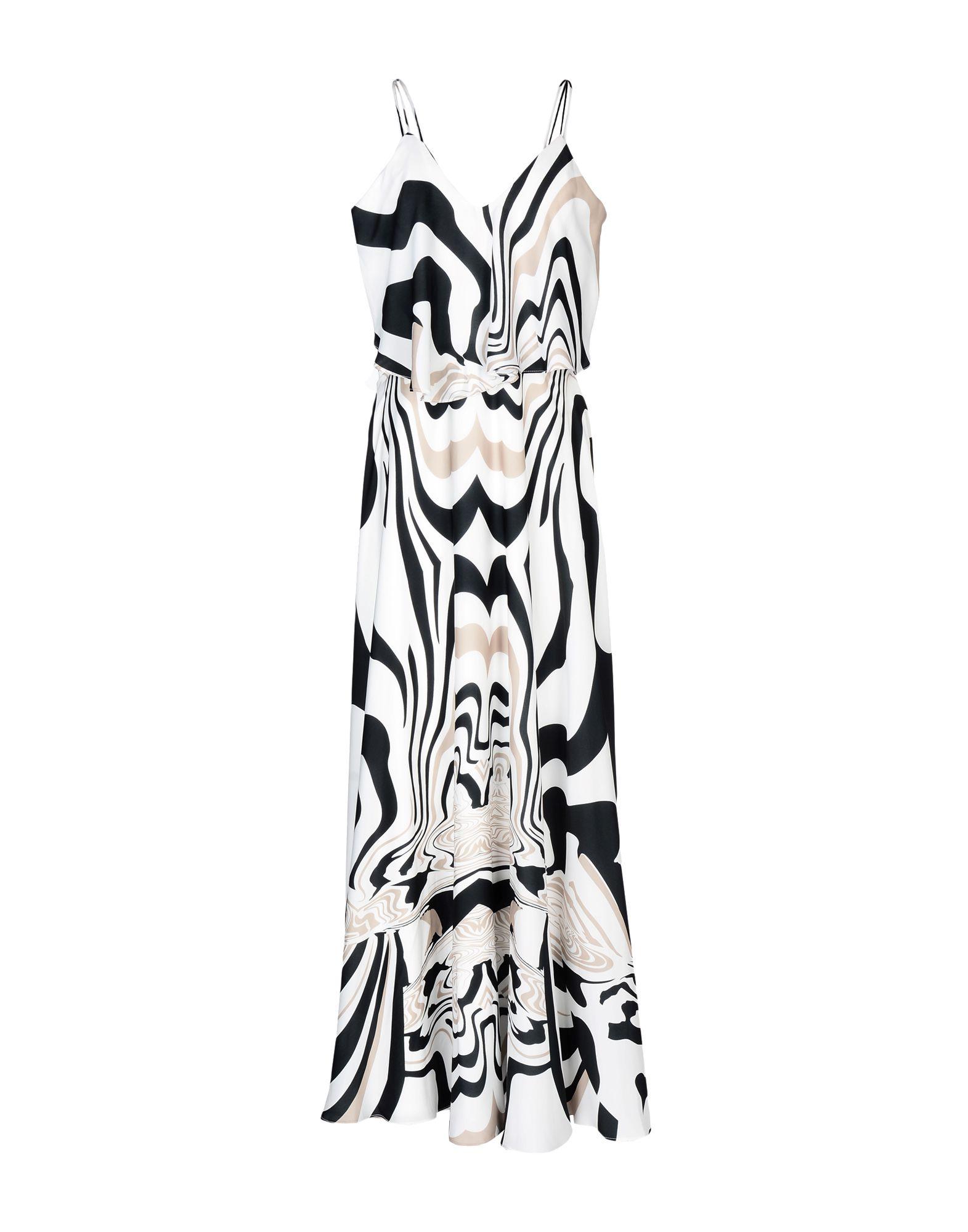 FOREVER UNIQUE Длинное платье гипюровое платье