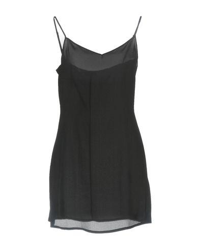 Фото - Женское короткое платье ERMANNO DI ERMANNO SCERVINO черного цвета
