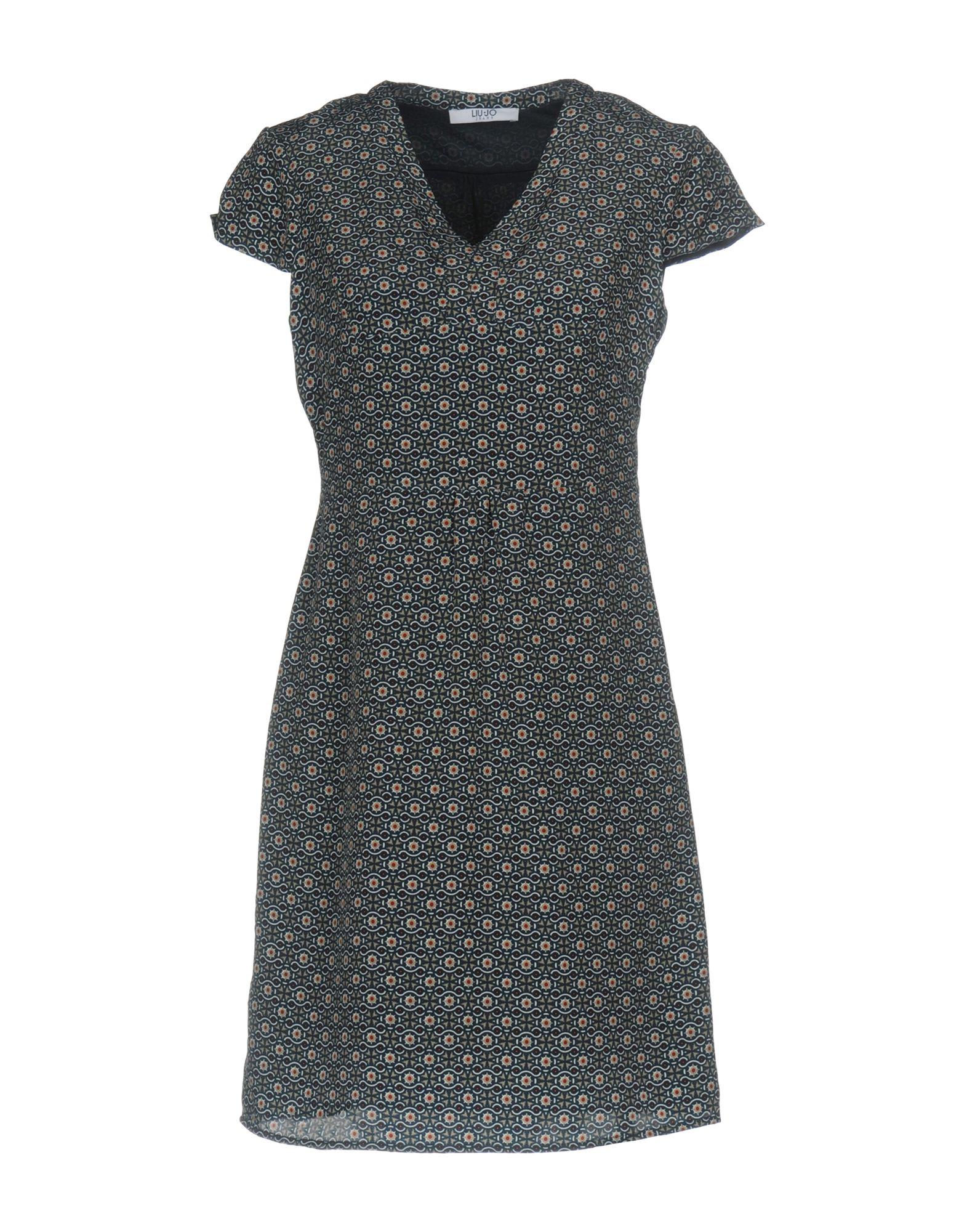 LIU •JO JEANS Короткое платье цена 2017