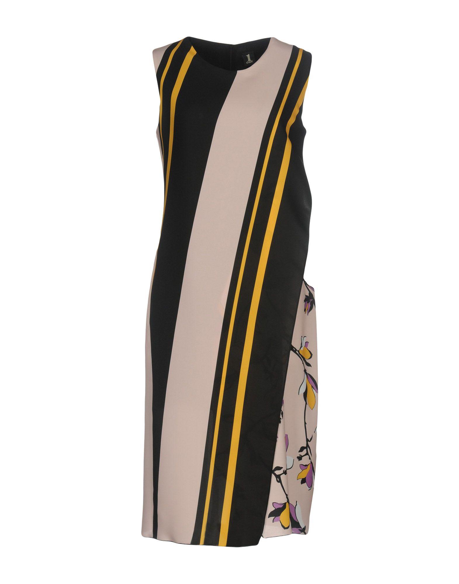 купить 1-ONE Платье до колена по цене 14950 рублей