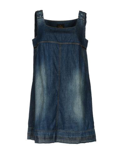 Купить Женское короткое платье VIVIENNE WESTWOOD ANGLOMANIA синего цвета