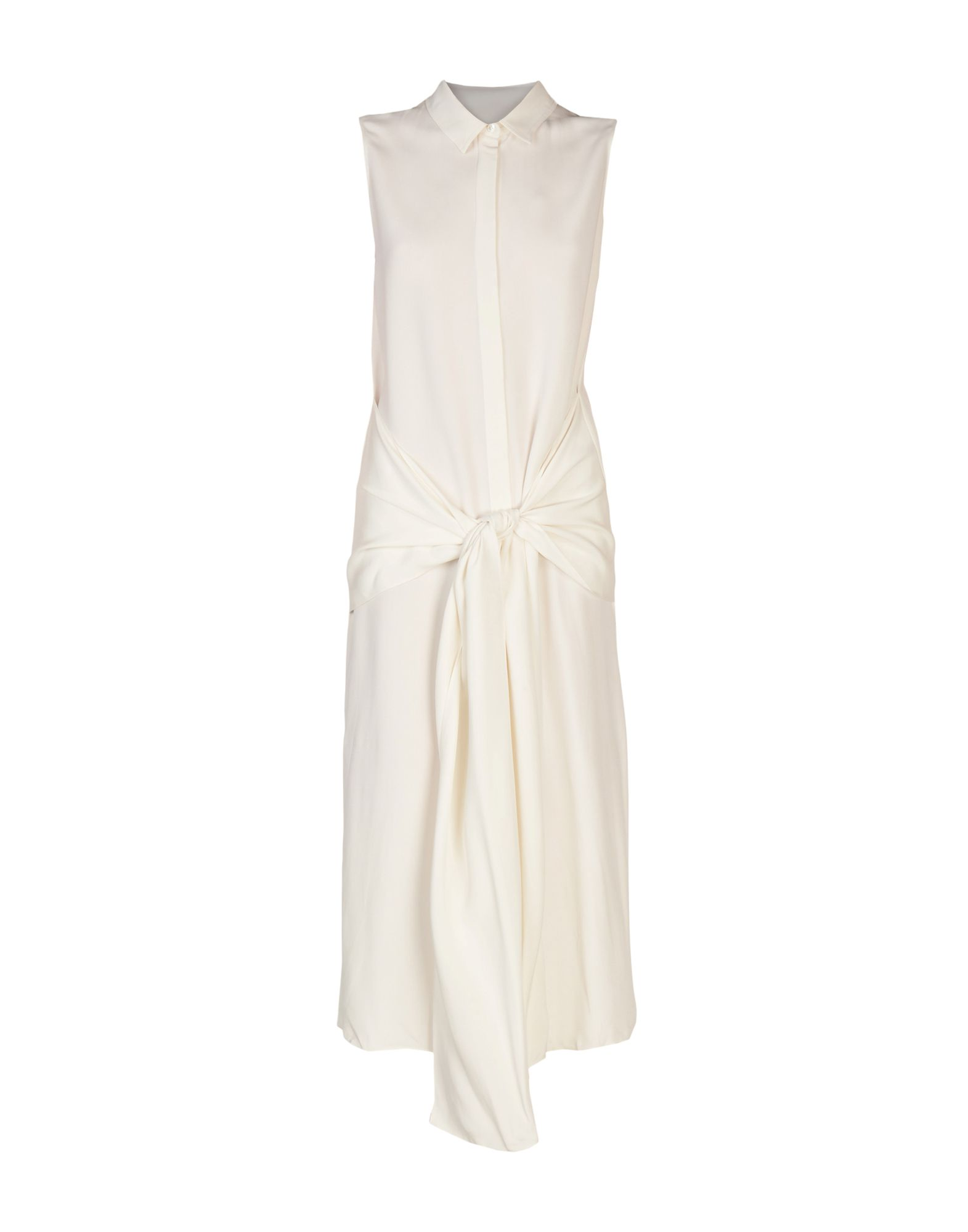 《送料無料》JOSEPH レディース ロングワンピース&ドレス アイボリー 36 シルク 100%