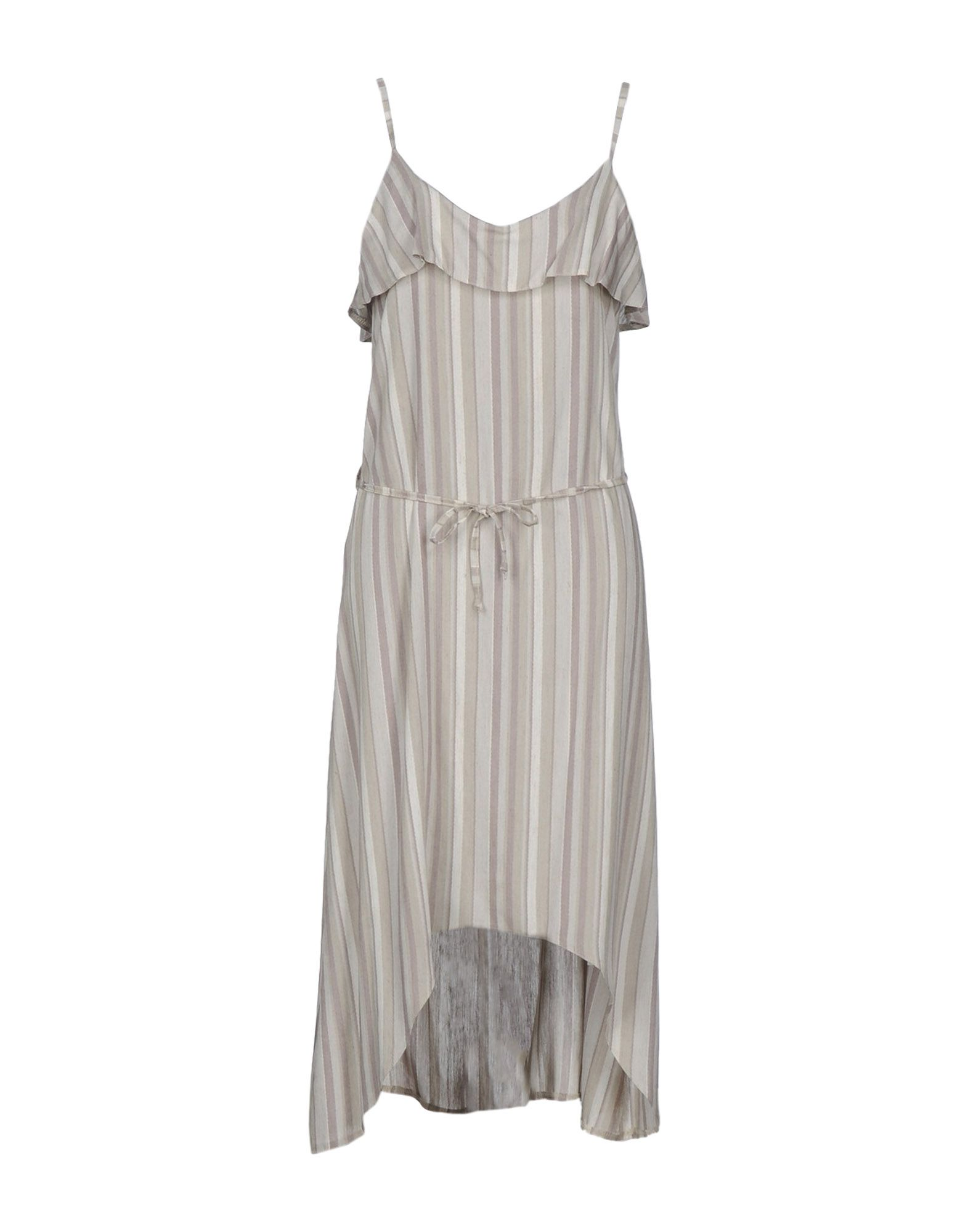 PAOLO CASALINI Платье длиной 3/4 брюки paolo casalini цвет чёрный