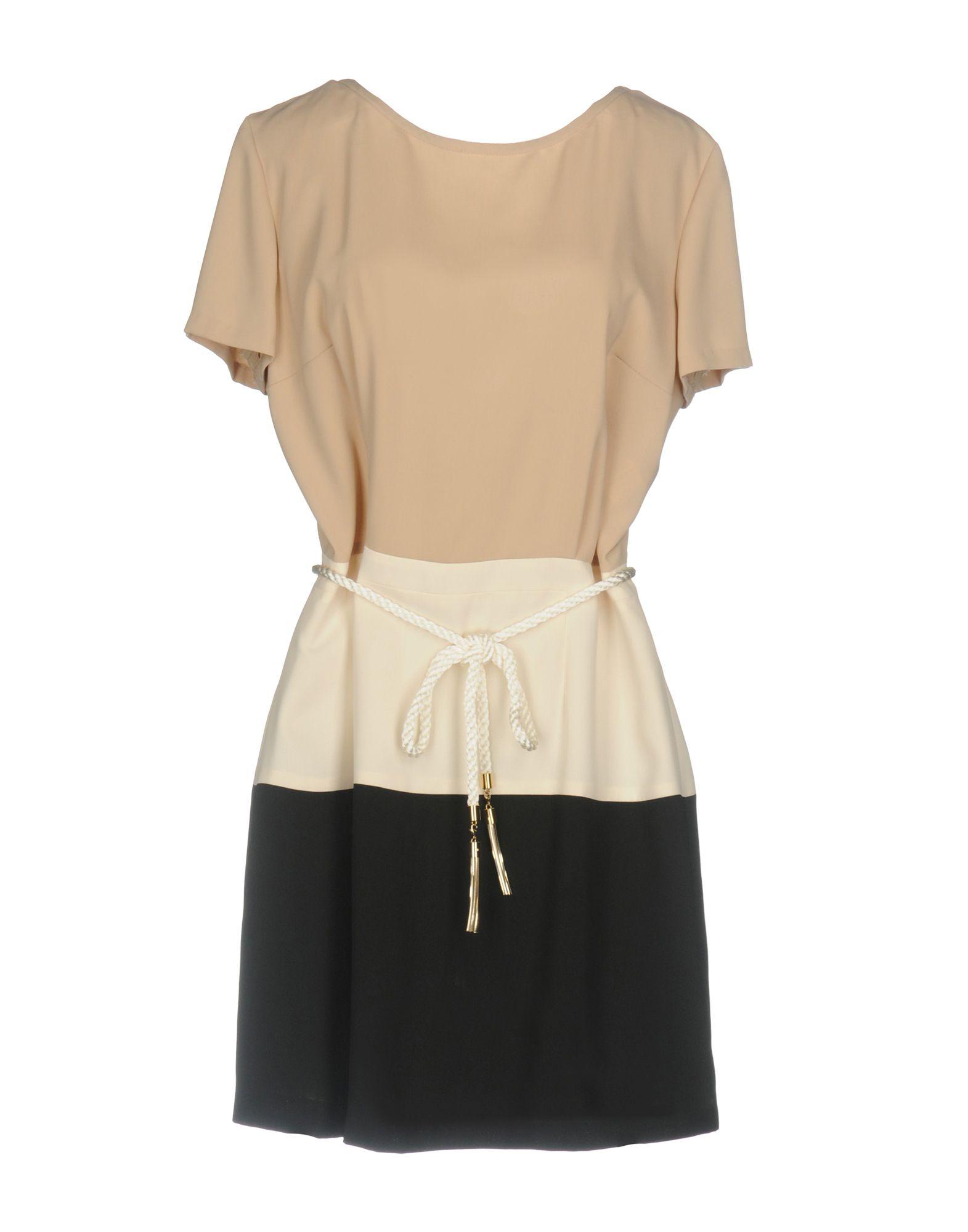 ELISABETTA FRANCHI Короткое платье elisabetta franchi футболка