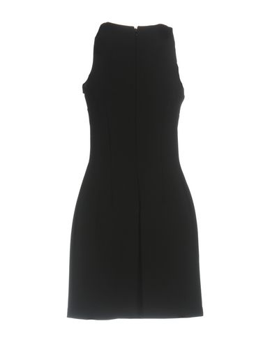 Фото 2 - Женское короткое платье VERSUS VERSACE черного цвета
