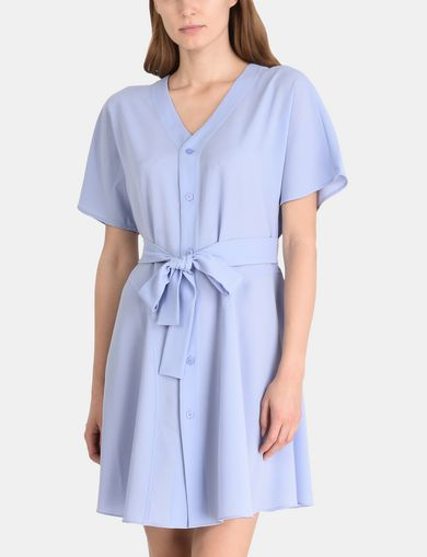 TIE-WAIST WING DRESS