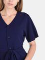 ARMANI EXCHANGE TIE-WAIST WING DRESS Mini dress Woman e