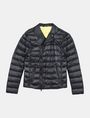 ARMANI EXCHANGE QUILTED DOWN-FILL MOTO JACKET PUFFER JACKET Man b