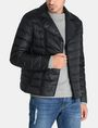 ARMANI EXCHANGE QUILTED DOWN-FILL MOTO JACKET PUFFER JACKET Man f