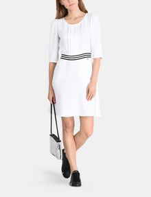 ARMANI EXCHANGE CONTRAST WAIST SWING DRESS Mini dress Woman a