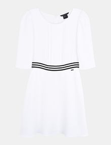 ARMANI EXCHANGE CONTRAST WAIST SWING DRESS Mini dress Woman b