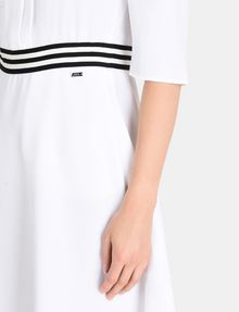 ARMANI EXCHANGE CONTRAST WAIST SWING DRESS Mini dress Woman e