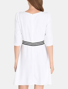 ARMANI EXCHANGE CONTRAST WAIST SWING DRESS Mini dress Woman r