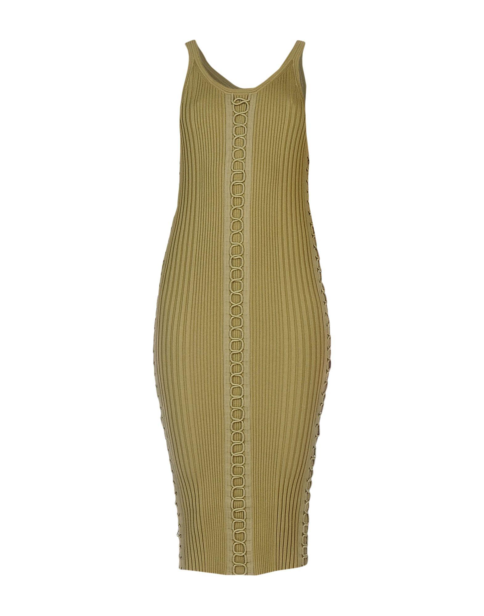 alexander wang платье с бюстье ALEXANDER WANG Платье до колена