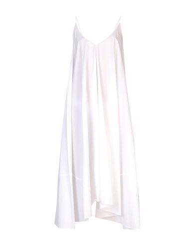 Купить Платье длиной 3/4 белого цвета