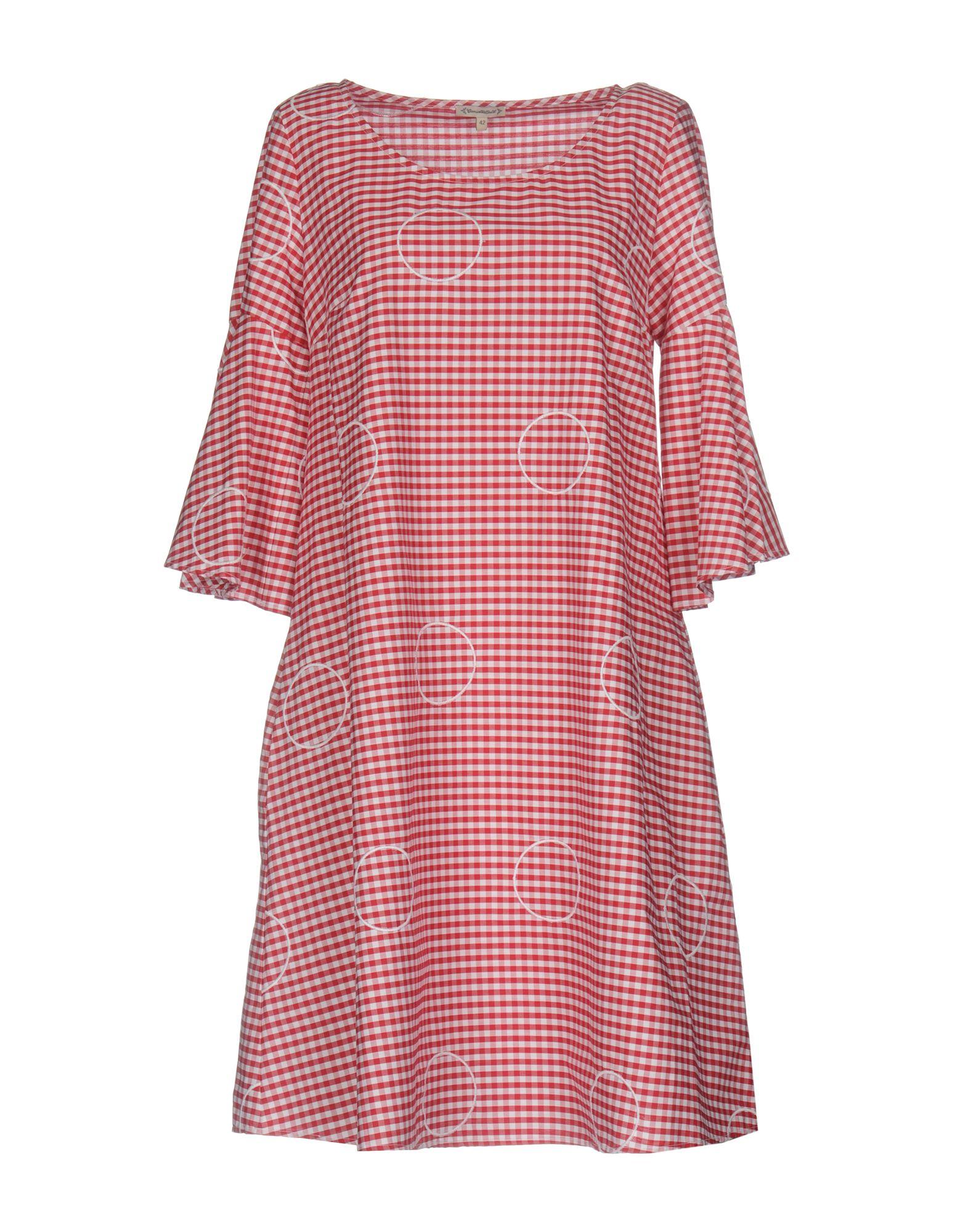 CAMICETTASNOB Короткое платье lisa corti короткое платье