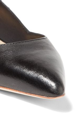 LOEFFLER RANDALL Lace-up leather point-toe flats