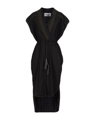 Фото - Женское короткое платье BRAND UNIQUE черного цвета