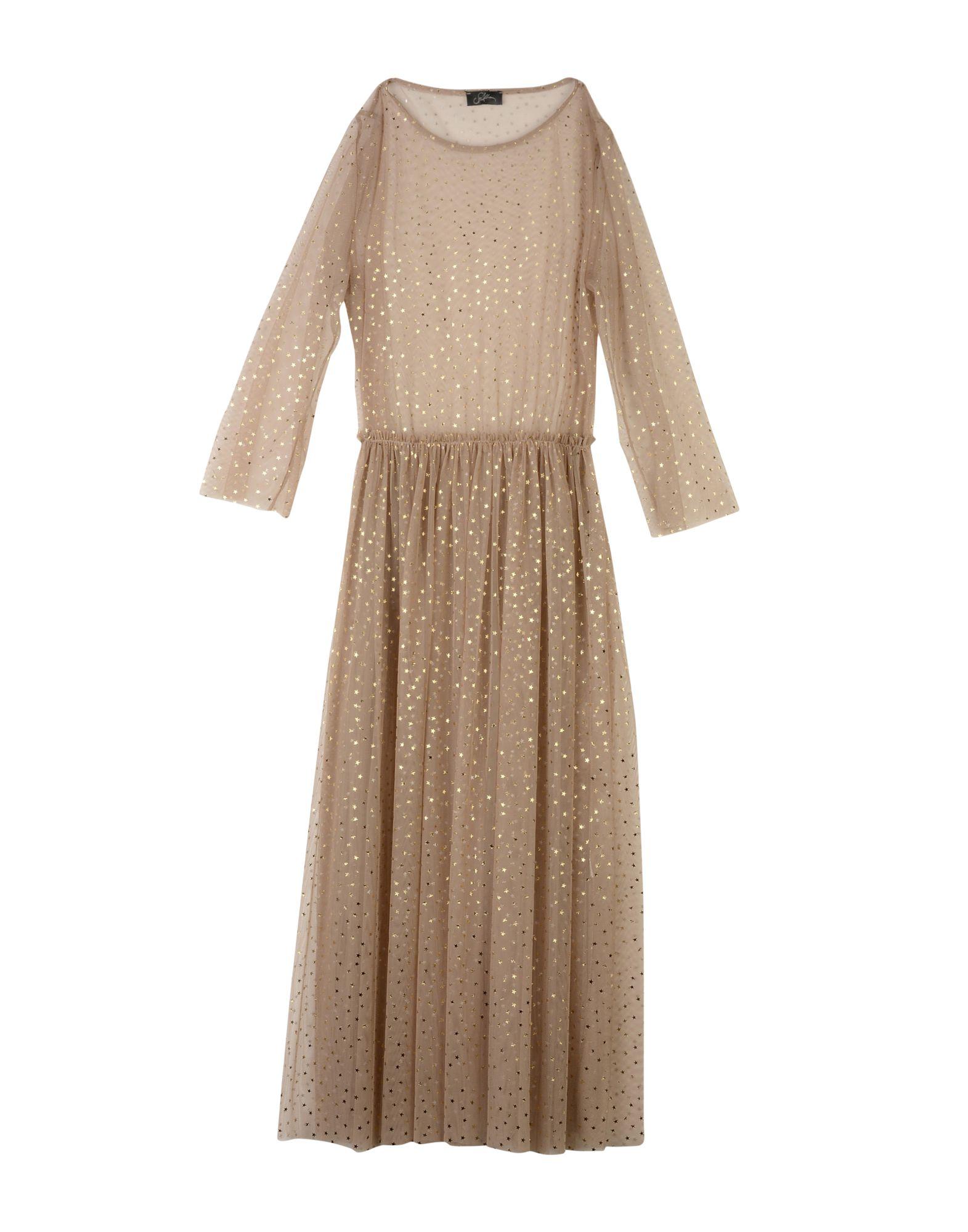 SOALLURE Платье длиной 3/4 lisa corti платье длиной 3 4