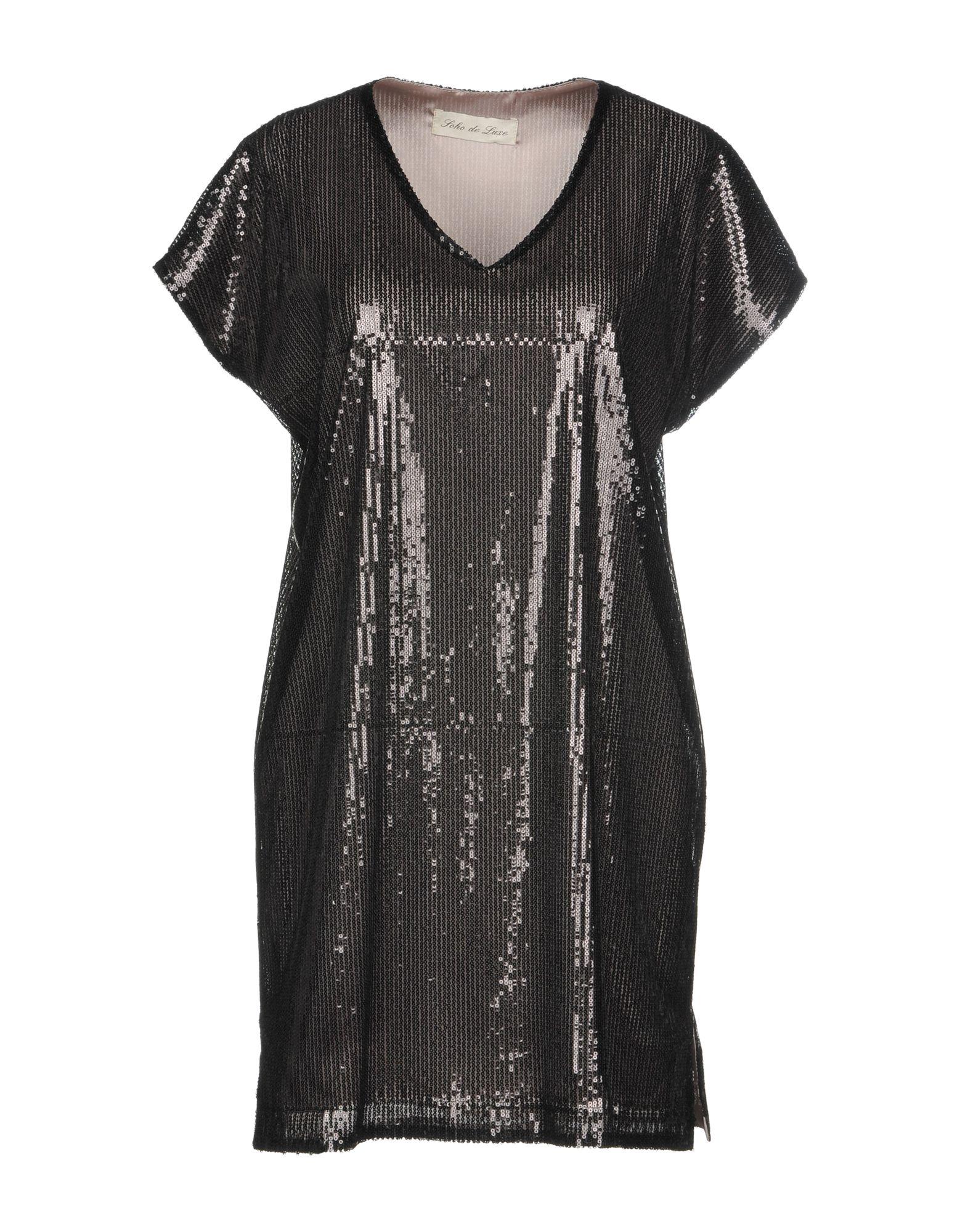 Фото SOHO DE LUXE Короткое платье. Купить с доставкой