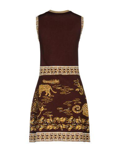 Фото 2 - Женское короткое платье  цвет какао