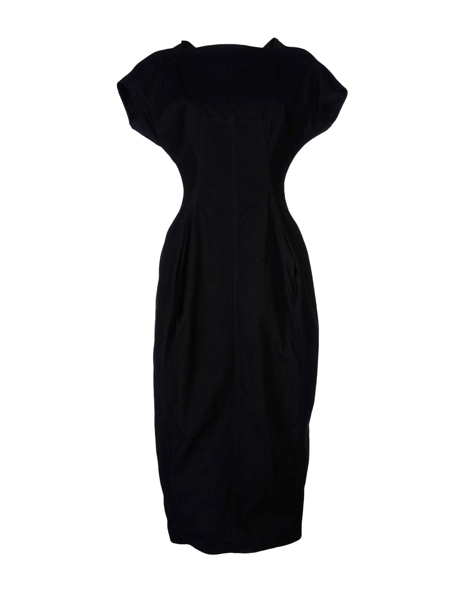 DRKSHDW by RICK OWENS Платье длиной 3/4 цена 2017