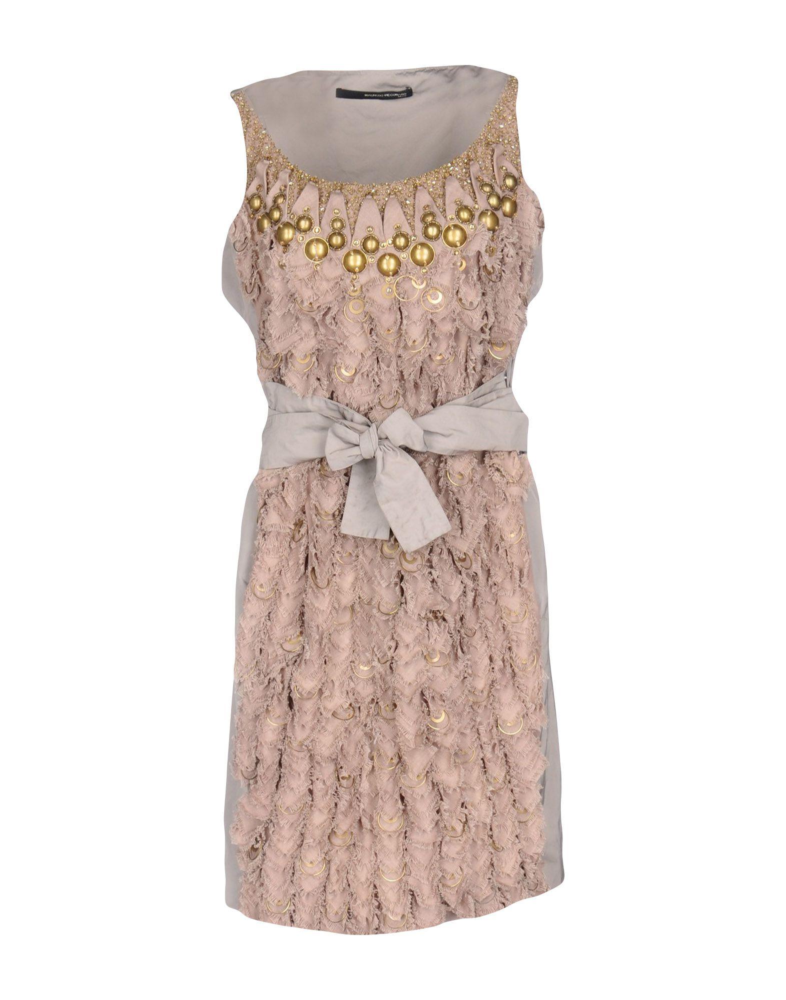 где купить MAURIZIO PECORARO Короткое платье по лучшей цене