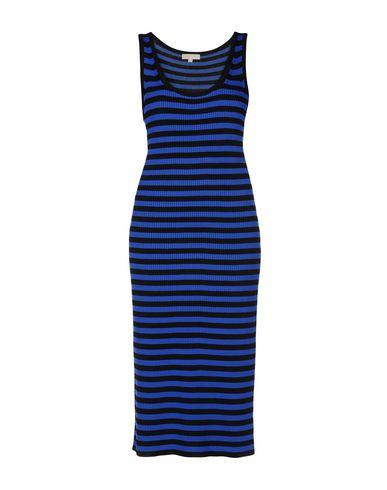 Купить Платье длиной 3/4 синего цвета