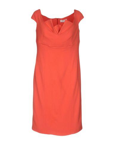 Фото - Женское короткое платье CAPUCCI кораллового цвета