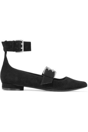 OPENING CEREMONY Fletcher suede point-toe flats