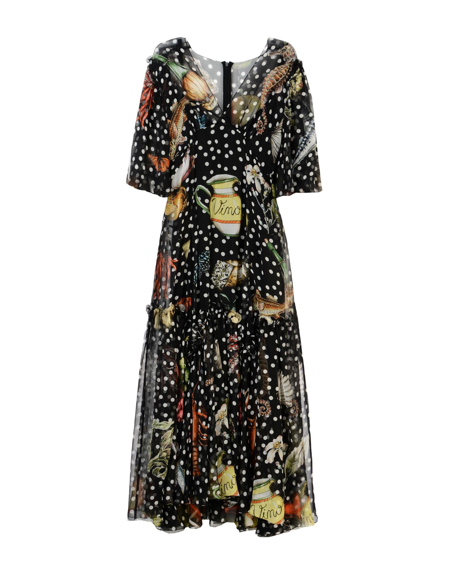 DOLCE & GABBANA Длинное платье цена 2017