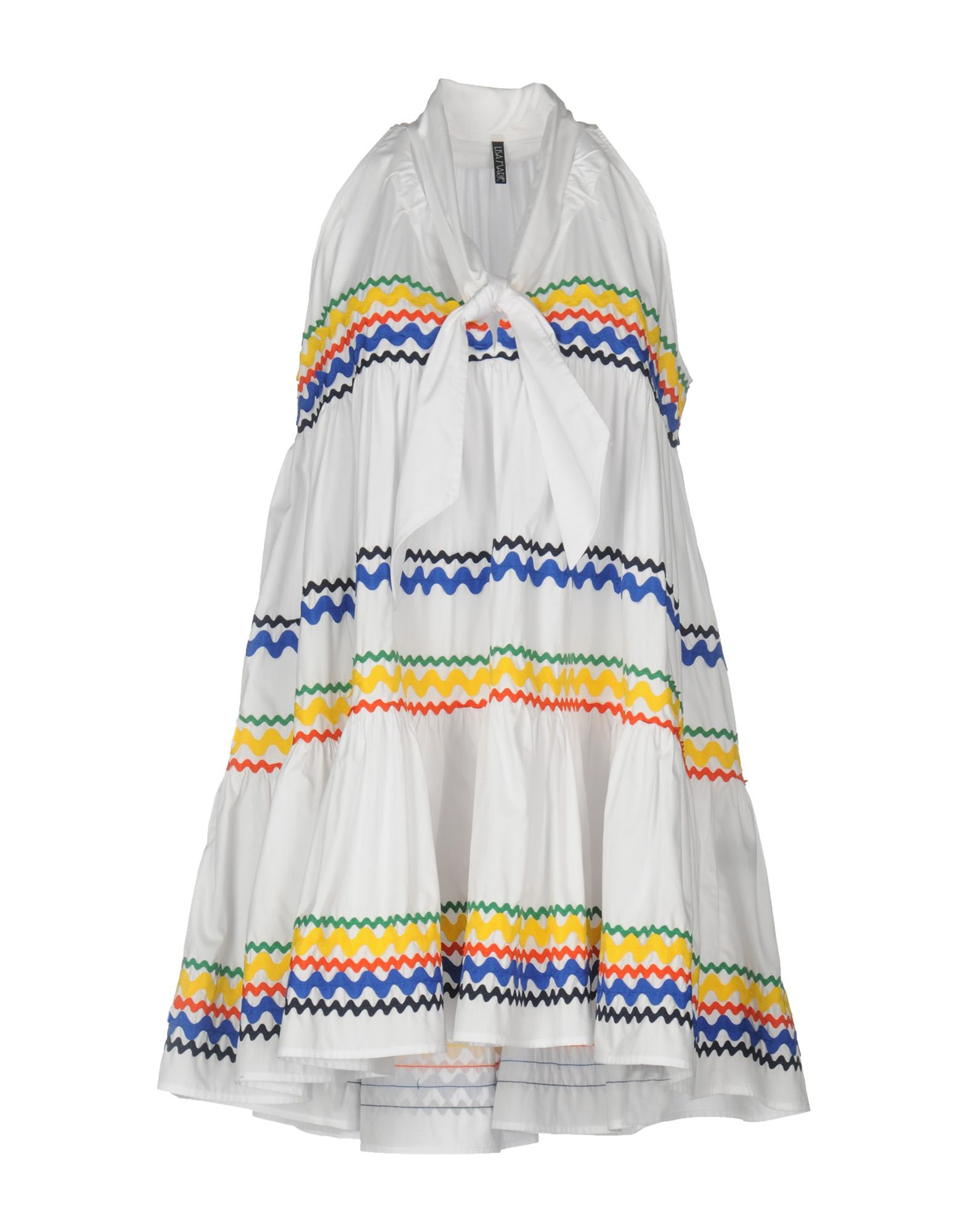 LISA MARIE FERNANDEZ Короткое платье lisa corti сандалии