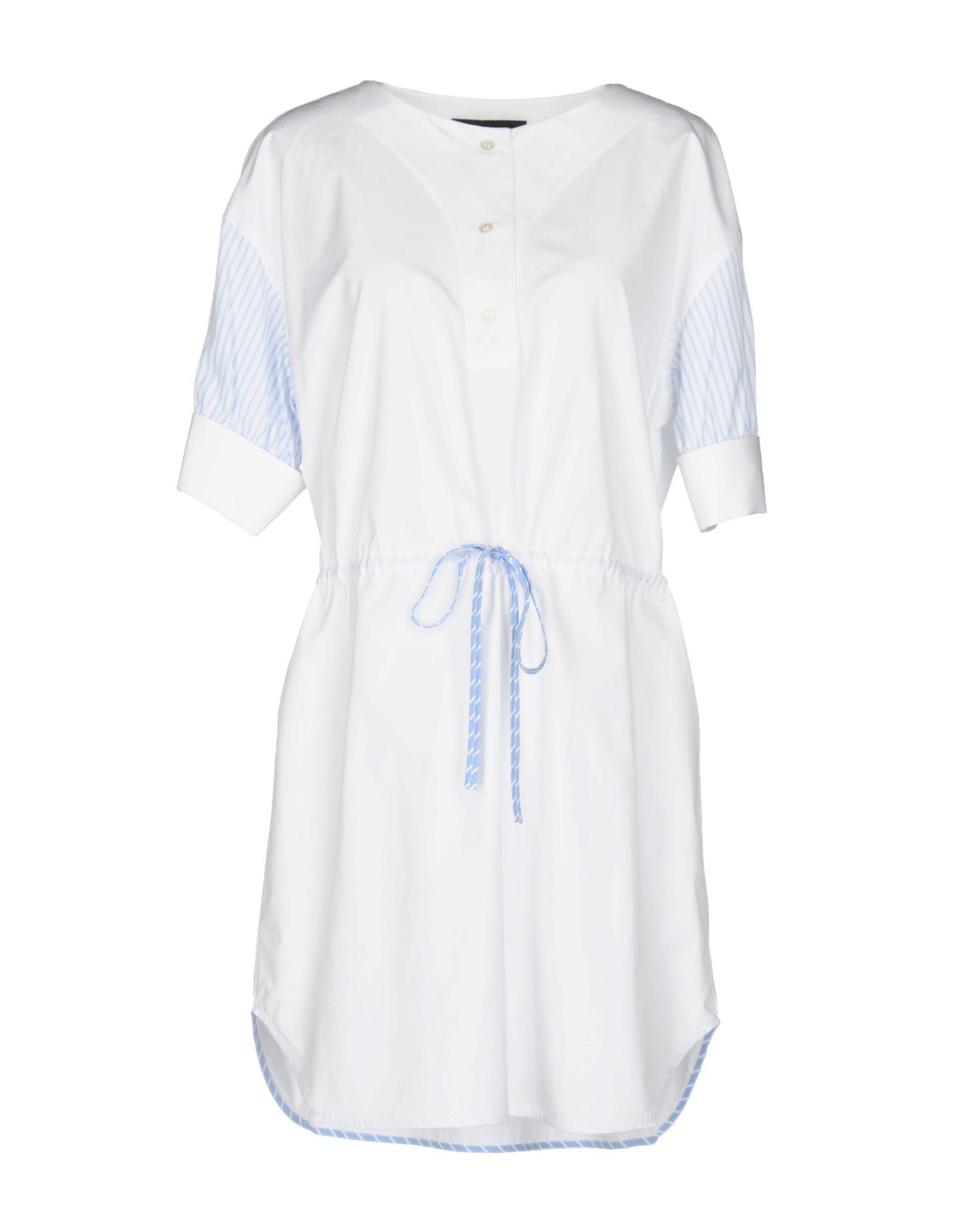 ALEXANDER WANG Короткое платье t by alexander wang платье длиной 3 4